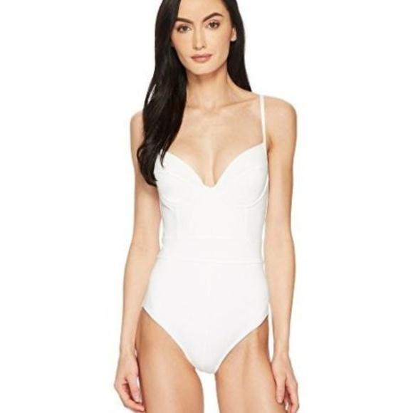 a820620925 Proenza Schouler Swim   White Bustier Suit Large 375   Poshmark